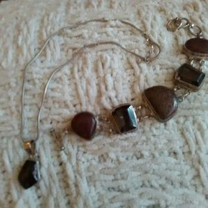 Necklaces Bracelet Set